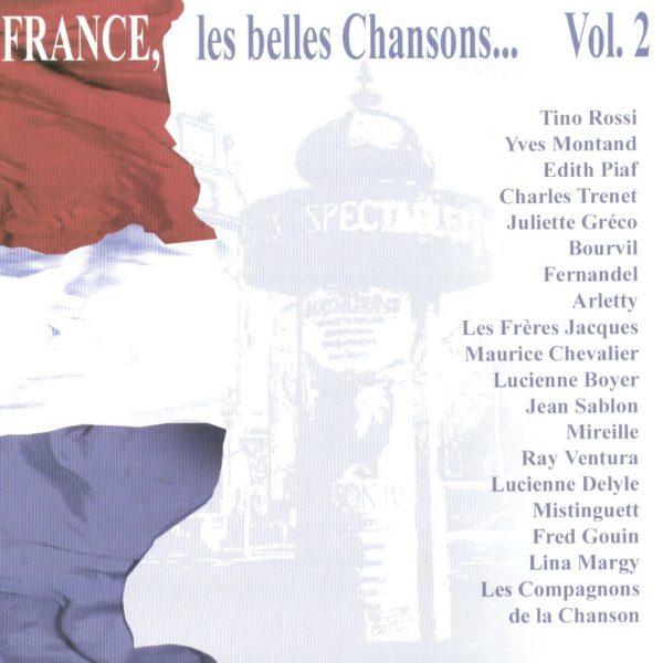France les belles chansons Volume 2 - 10H10