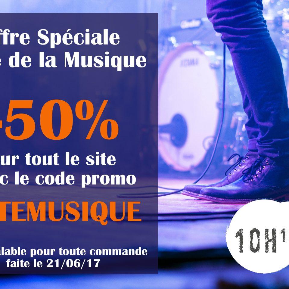 Offre Fete Musique - 10H10