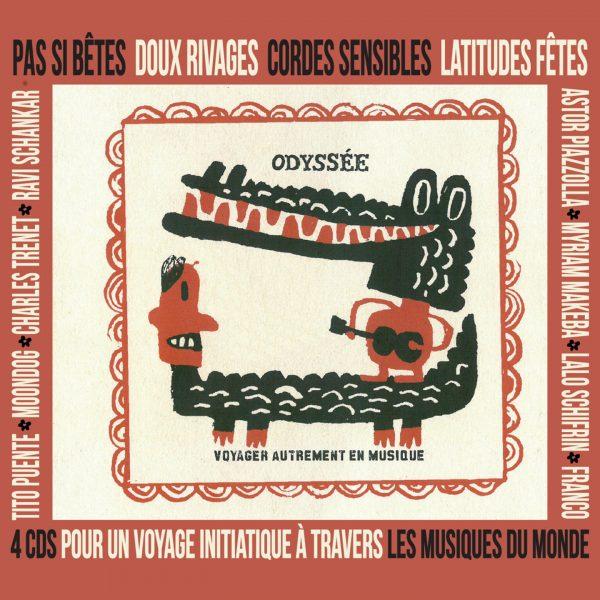 Odyssee - Coffret 4 CDs - 10H10
